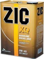 Фото - Моторное масло ZIC XQ 0W-40 4L