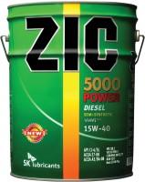 Моторное масло ZIC XQ 5000 Power 15W-40 20L