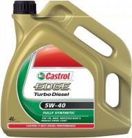 Моторное масло Castrol Edge Turbo Diesel 5W-40 4L