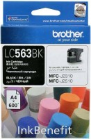 Картридж Brother LC-563BK