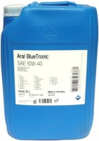 Моторное масло Aral Blue Tronic 10W-40 20L