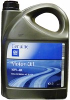 Моторное масло GM Motor Oil 10W-40 5L