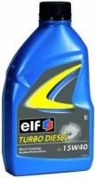 Моторное масло ELF Turbo Diesel 15W-40 1L