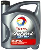 Моторное масло Total Quartz INEO MC3 5W-40 5L