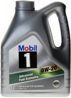 Фото - Моторное масло MOBIL 0W-20 4L