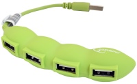 Картридер/USB-хаб Gembird UH-003