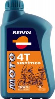 Моторное масло Repsol Moto Sintetico 4T 10W-40 1L