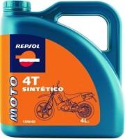 Моторное масло Repsol Moto Sintetico 4T 10W-40 4L