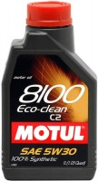 Моторное масло Motul 8100 Eco-Clean 5W-30 1L