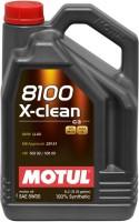 Моторное масло Motul 8100 X-clean 5W-30 5L