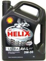 Моторное масло Shell Helix Ultra AV-L 5W-30 5L