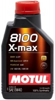 Фото - Моторное масло Motul 8100 X-Max 0W-40 1L