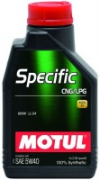 Моторное масло Motul Specific CNG/LPG 5W-40 1L