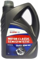 Моторное масло Lotos Motor Classic Semisyntetic 10W-40 5L