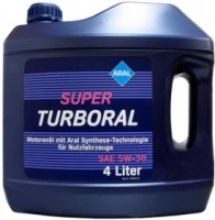Моторное масло Aral Super Turboral 5W-30 4L
