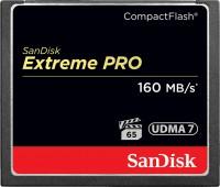 Фото - Карта памяти SanDisk Extreme Pro 160MB/s CompactFlash 128Gb