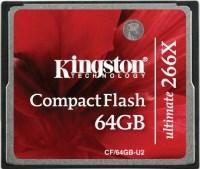 Фото - Карта памяти Kingston CompactFlash Ultimate 266x 64Gb