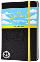 Блокнот Moleskine The Simpsons Plain Notebook Pocket