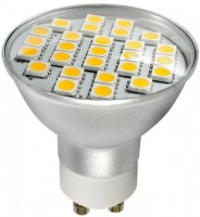 Лампочка Brille LED GU10 3.8W 27 pcs WW MR16 (L27-010)