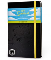 Блокнот Moleskine The Simpsons Plain Notebook