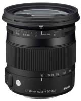 Фото - Объектив Sigma 17-70mm F2.8-4.0 DC MACRO OS HSM C