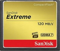 Фото - Карта памяти SanDisk Extreme CompactFlash 120MB/s 32Gb