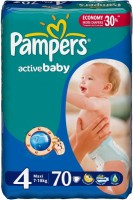 Подгузники Pampers Active Baby 4 / 70 pcs