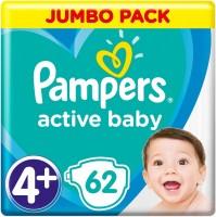 Фото - Подгузники Pampers Active Baby 4 Plus / 62 pcs