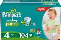 Фото - Подгузники Pampers Active Boy 4 / 104 pcs