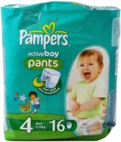 Фото - Подгузники Pampers Active Boy 4 / 16 pcs