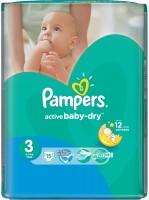 Фото - Подгузники Pampers Active Baby 3 / 15 pcs