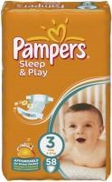 Подгузники Pampers Sleep and Play 3 / 58 pcs