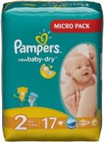 Фото - Подгузники Pampers New Baby-Dry 2 / 17 pcs