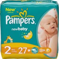 Фото - Подгузники Pampers New Baby 2 / 27 pcs