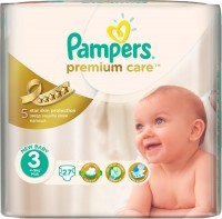 Подгузники Pampers Premium Care 3 / 27 pcs