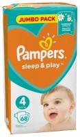 Фото - Подгузники Pampers Sleep and Play 4 / 68 pcs