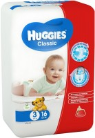 Фото - Подгузники Huggies Classic 3 / 16 pcs