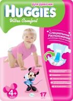 Фото - Подгузники Huggies Ultra Comfort Girl 4 Plus / 17 pcs