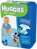Фото - Подгузники Huggies Ultra Comfort Boy 4 Plus / 17 pcs