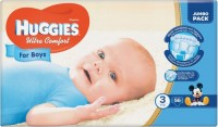 Подгузники Huggies Ultra Comfort Boy 3 / 56 pcs