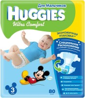 Фото - Подгузники Huggies Ultra Comfort Boy 3 / 80 pcs