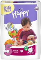 Фото - Подгузники Bella Baby Happy Junior 5 / 58 pcs