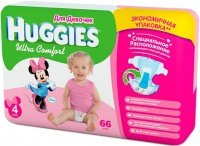 Фото - Подгузники Huggies Ultra Comfort Girl 4 / 66 pcs