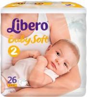 Подгузники Libero Baby Soft 2 / 26 pcs