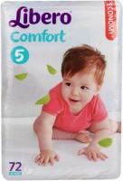 Подгузники Libero Comfort 5 / 72 pcs