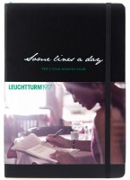 Ежедневник Leuchtturm1917 Some Lines A Day Black