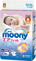 Подгузники Moony Diapers NB / 90 pcs