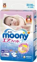 Подгузники Moony Diapers NB / 90 pcs