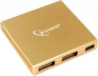 Картридер/USB-хаб Gembird UH-006