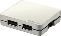 Картридер/USB-хаб Speed-Link Snappy 4 Port